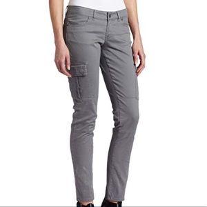 Prana Brynn Gray Cargo Skinny Pant Outdoor 12